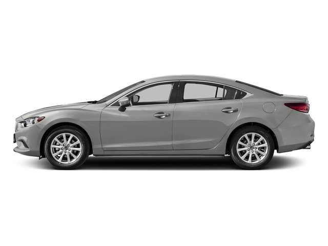 Sonic Silver Metallic 2016 Mazda Mazda6 Pictures Mazda6 Sedan 4D i Sport I4 photos side view