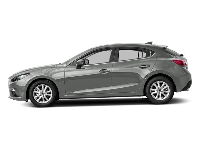 Liquid Silver Metallic 2016 Mazda Mazda3 Pictures Mazda3 Wagon 5D s GT I4 photos side view