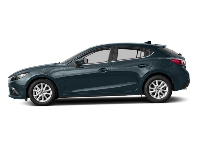 Blue Reflex Mica 2016 Mazda Mazda3 Pictures Mazda3 Wagon 5D s GT I4 photos side view