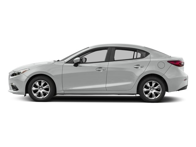 Snowflake White Pearl Mica 2016 Mazda Mazda3 Pictures Mazda3 Sedan 4D i Sport I4 photos side view