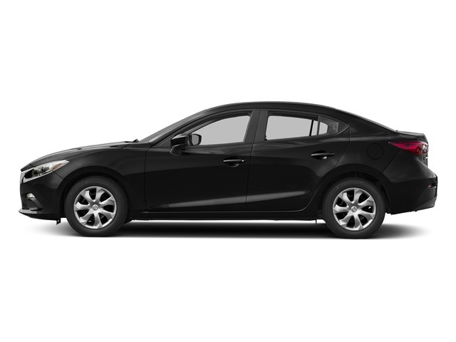 Jet Black Mica 2016 Mazda Mazda3 Pictures Mazda3 Sedan 4D i Sport I4 photos side view