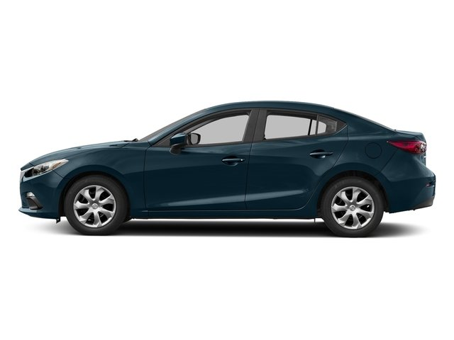 Deep Crystal Blue Mica 2016 Mazda Mazda3 Pictures Mazda3 Sedan 4D i Sport I4 photos side view