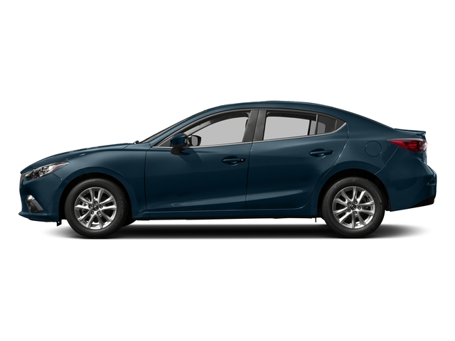 Deep Crystal Blue Mica 2016 Mazda Mazda3 Pictures Mazda3 Sedan 4D i Touring I4 photos side view