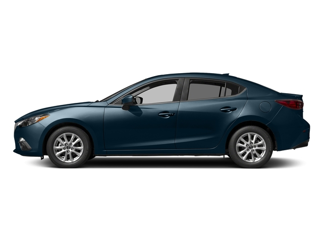 Deep Crystal Blue Mica 2016 Mazda Mazda3 Pictures Mazda3 Sedan 4D i GT I4 photos side view