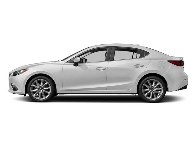 Snowflake White Pearl Mica 2016 Mazda Mazda3 Pictures Mazda3 Sedan 4D s Touring I4 photos side view