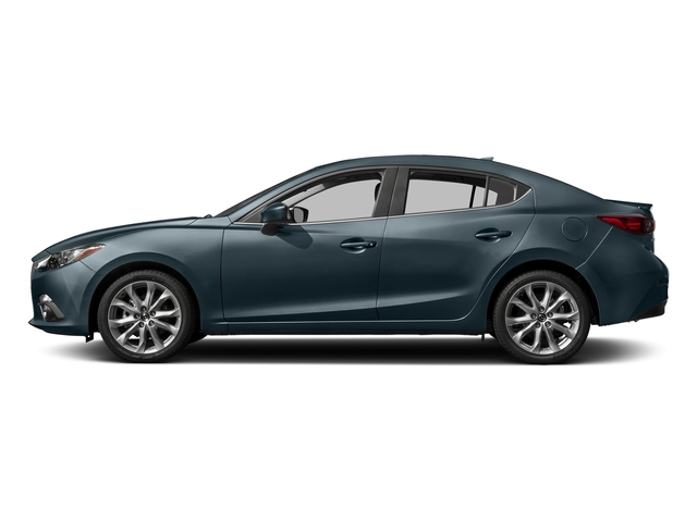 Blue Reflex Mica 2016 Mazda Mazda3 Pictures Mazda3 Sedan 4D s Touring I4 photos side view