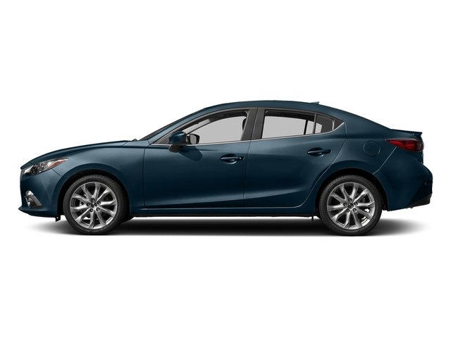 Deep Crystal Blue Mica 2016 Mazda Mazda3 Pictures Mazda3 Sedan 4D s Touring I4 photos side view