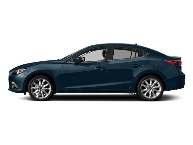 Deep Crystal Blue Mica 2016 Mazda Mazda3 Pictures Mazda3 Sedan 4D s GT I4 photos side view