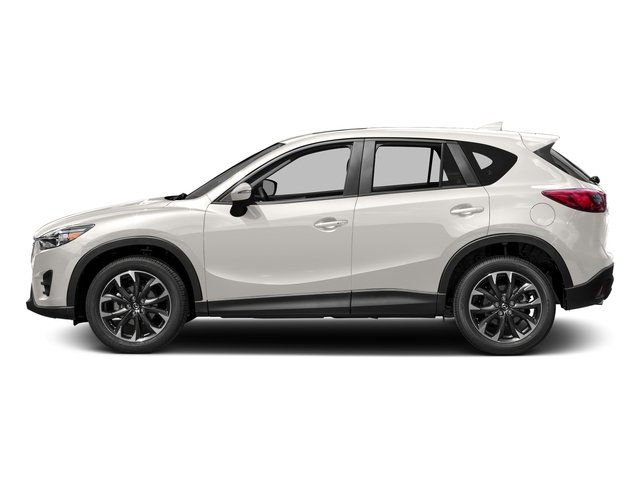 Crystal White Pearl Mica 2016 Mazda CX-5 Pictures CX-5 Utility 4D GT AWD I4 photos side view