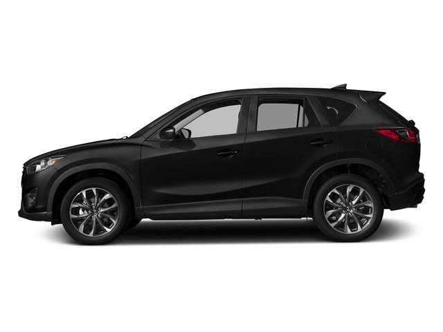 Jet Black Mica 2016 Mazda CX-5 Pictures CX-5 Utility 4D GT 2WD I4 photos side view