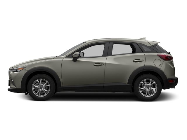 Ceramic Silver Metallic 2016 Mazda CX-3 Pictures CX-3 Utility 4D Touring AWD I4 photos side view
