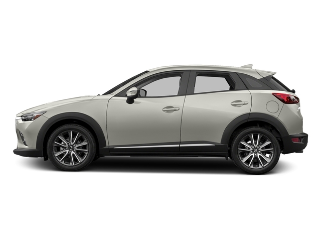 Ceramic Silver Metallic 2016 Mazda CX-3 Pictures CX-3 Utility 4D GT AWD I4 photos side view