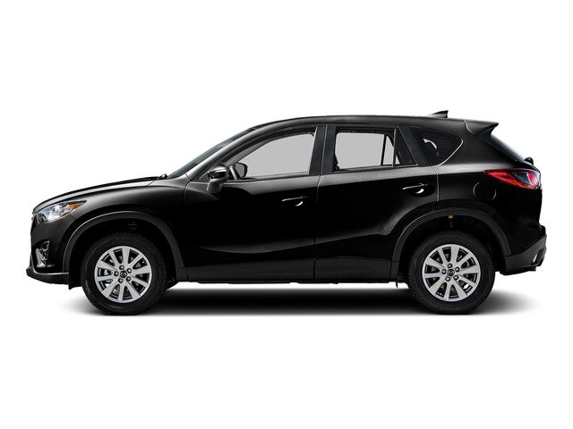 Jet Black Mica 2016 Mazda CX-5 Pictures CX-5 Utility 4D Touring AWD I4 photos side view