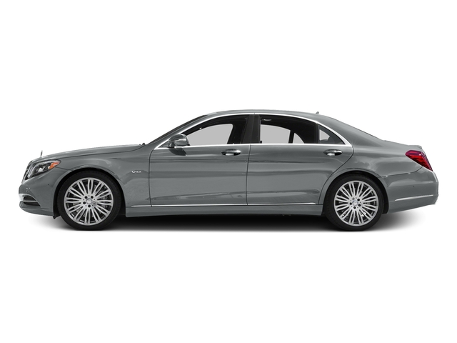 Iridium Silver Metallic 2016 Mercedes-Benz S-Class Pictures S-Class Sedan 4D S600 V12 Turbo photos side view