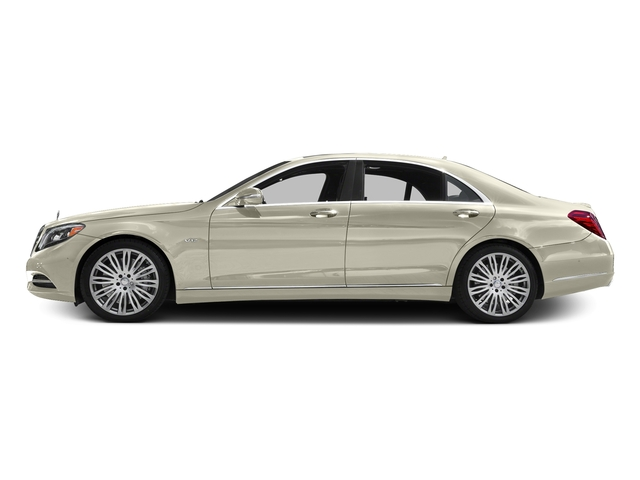 designo Diamond White 2016 Mercedes-Benz S-Class Pictures S-Class Sedan 4D S600 V12 Turbo photos side view
