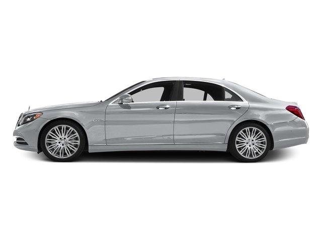 Diamond Silver Metallic 2016 Mercedes-Benz S-Class Pictures S-Class Sedan 4D S600 V12 Turbo photos side view