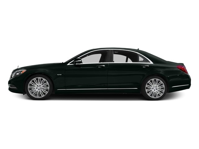 Emerald Green Metallic 2016 Mercedes-Benz S-Class Pictures S-Class Sedan 4D S600 V12 Turbo photos side view