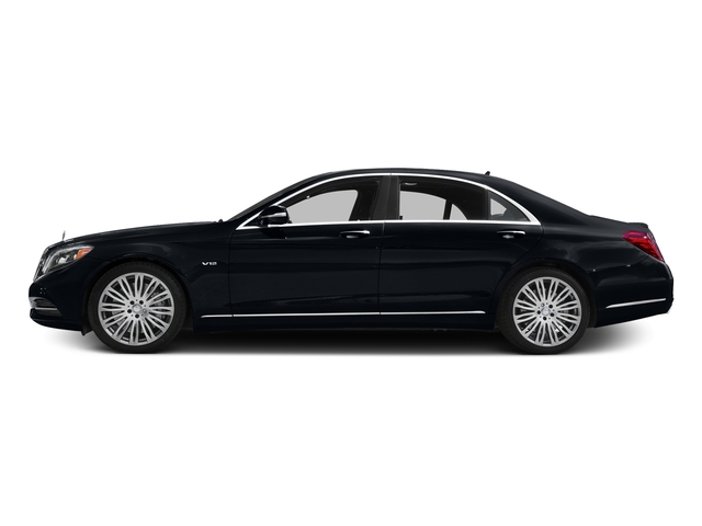 Anthracite Blue Metallic 2016 Mercedes-Benz S-Class Pictures S-Class Sedan 4D S600 V12 Turbo photos side view