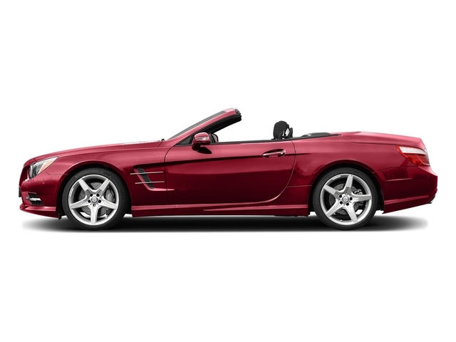 Mars Red 2016 Mercedes-Benz SL Pictures SL Roadster 2D SL550 V8 Turbo photos side view