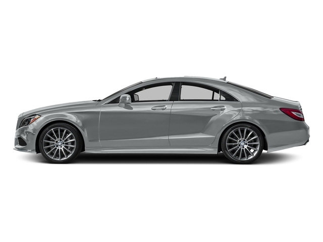 Iridium Silver Metallic 2016 Mercedes-Benz CLS Pictures CLS Sedan 4D CLS550 V8 Turbo photos side view