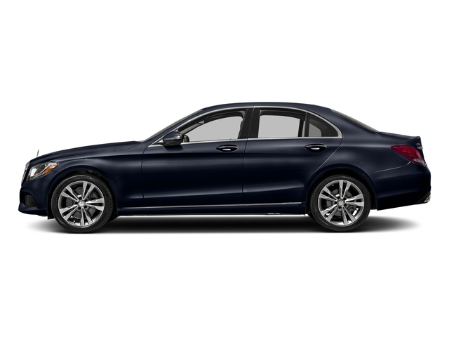 Lunar Blue Metallic 2016 Mercedes-Benz C-Class Pictures C-Class Sedan 4D C300 AWD I4 Turbo photos side view