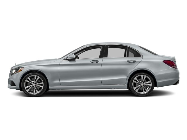 Diamond Silver Metallic 2016 Mercedes-Benz C-Class Pictures C-Class Sedan 4D C300 AWD I4 Turbo photos side view