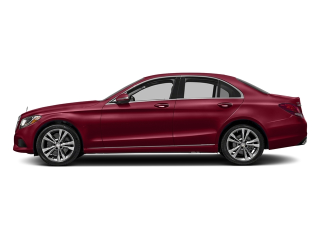 designo Cardinal Red Metallic 2016 Mercedes-Benz C-Class Pictures C-Class Sedan 4D C300 AWD I4 Turbo photos side view
