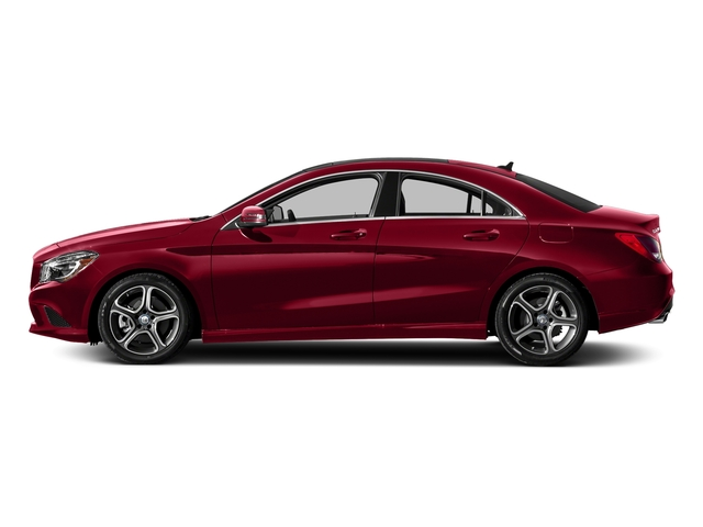 Jupiter Red 2016 Mercedes-Benz CLA Pictures CLA Sedan 4D CLA250 AWD I4 Turbo photos side view
