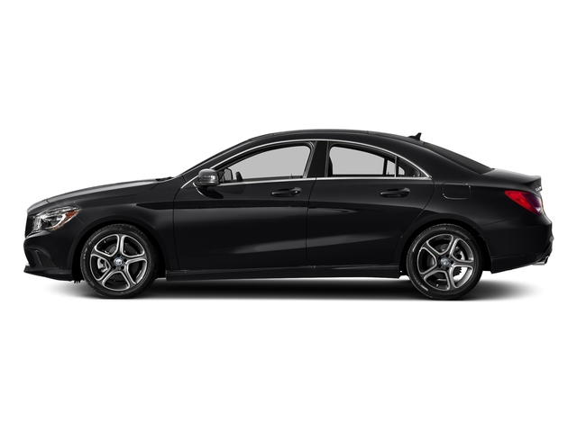 Night Black 2016 Mercedes-Benz CLA Pictures CLA Sedan 4D CLA250 AWD I4 Turbo photos side view