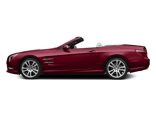 designo Cardinal Red Metallic 2016 Mercedes-Benz SL Pictures SL Roadster 2D SL400 V6 Turbo photos side view