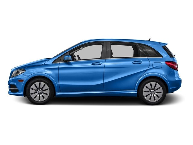 South Seas Blue Metallic 2016 Mercedes-Benz B-Class Pictures B-Class Hatchback 5D Electric Drive photos side view