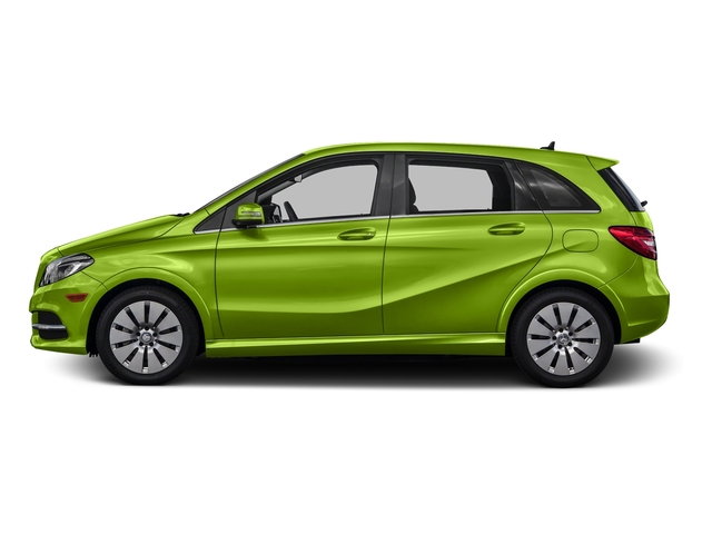 Kryptonite Green Metallic 2016 Mercedes-Benz B-Class Pictures B-Class Hatchback 5D Electric Drive photos side view