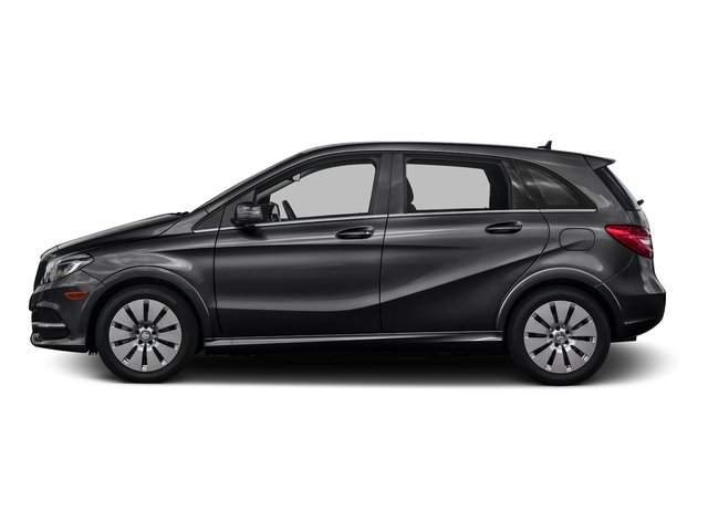 Night Black 2016 Mercedes-Benz B-Class Pictures B-Class Hatchback 5D Electric Drive photos side view