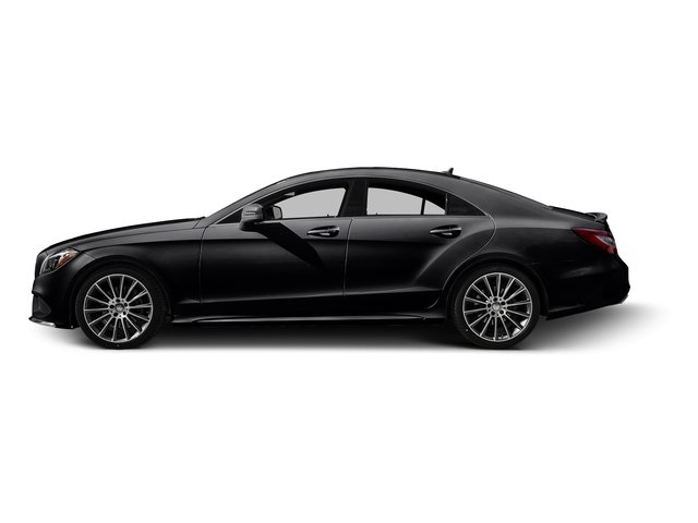 Black 2016 Mercedes-Benz CLS Pictures CLS Sedan 4D CLS400 V6 Turbo photos side view