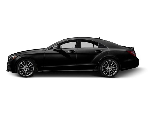 Obsidian Black Metallic 2016 Mercedes-Benz CLS Pictures CLS Sedan 4D CLS400 V6 Turbo photos side view