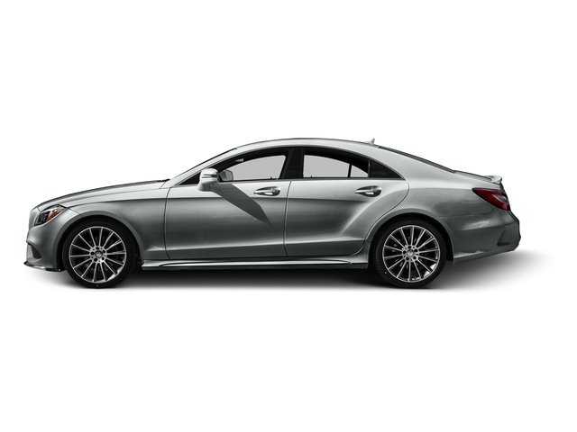 Iridium Silver Metallic 2016 Mercedes-Benz CLS Pictures CLS Sedan 4D CLS400 V6 Turbo photos side view
