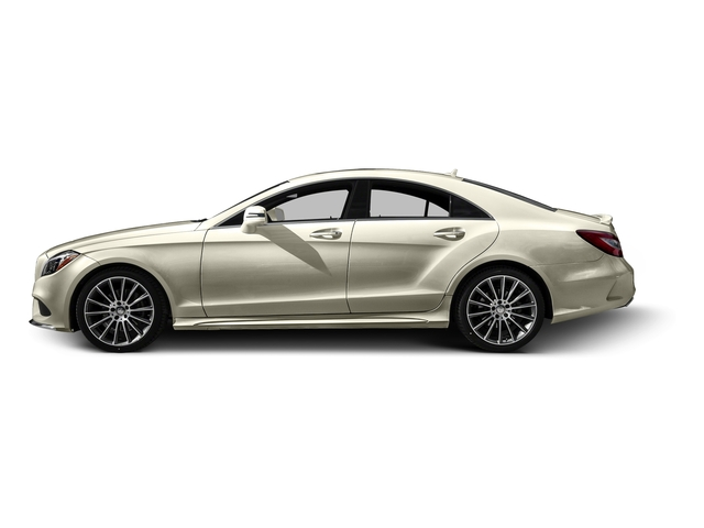 designo Diamond White Metallic 2016 Mercedes-Benz CLS Pictures CLS Sedan 4D CLS400 V6 Turbo photos side view