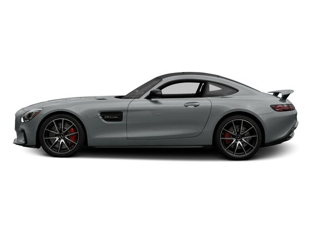 Iridium Silver Metallic 2016 Mercedes-Benz AMG GT Pictures AMG GT S 2 Door Coupe photos side view