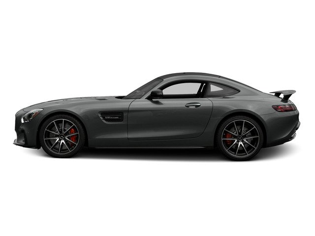 designo Selenite Grey 2016 Mercedes-Benz AMG GT Pictures AMG GT S 2 Door Coupe photos side view