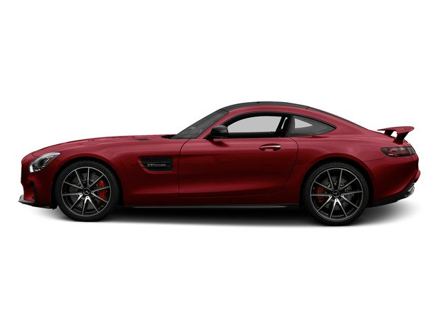 designo Cardinal Red Metallic 2016 Mercedes-Benz AMG GT Pictures AMG GT S 2 Door Coupe photos side view