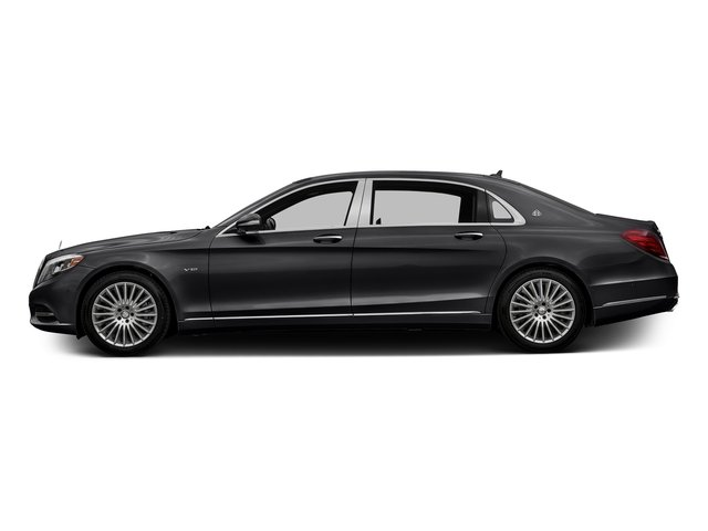 Black 2016 Mercedes-Benz S-Class Pictures S-Class Sedan 4D S600 Maybach V12 Turbo photos side view