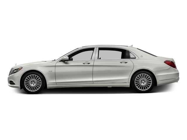designo Magno Cashmere White (Matte Finish) 2016 Mercedes-Benz S-Class Pictures S-Class Sedan 4D S600 Maybach V12 Turbo photos side view
