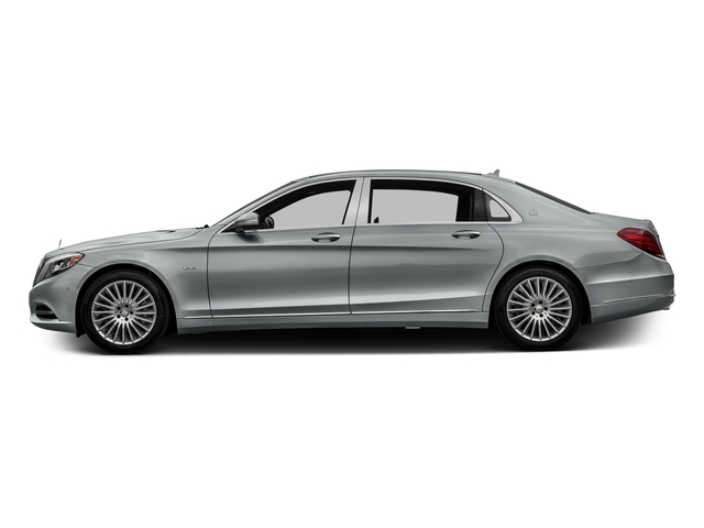 Iridium Silver Metallic 2016 Mercedes-Benz S-Class Pictures S-Class Sedan 4D S600 Maybach V12 Turbo photos side view