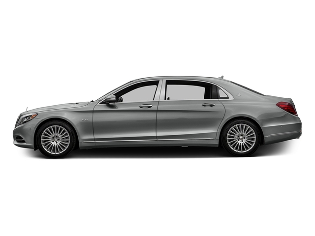 Palladium Silver Metallic 2016 Mercedes-Benz S-Class Pictures S-Class Sedan 4D S600 Maybach V12 Turbo photos side view