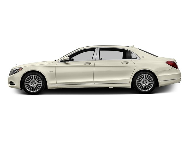 designo Diamond White 2016 Mercedes-Benz S-Class Pictures S-Class Sedan 4D S600 Maybach V12 Turbo photos side view