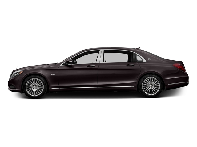 Ruby Black Metallic 2016 Mercedes-Benz S-Class Pictures S-Class Sedan 4D S600 Maybach V12 Turbo photos side view