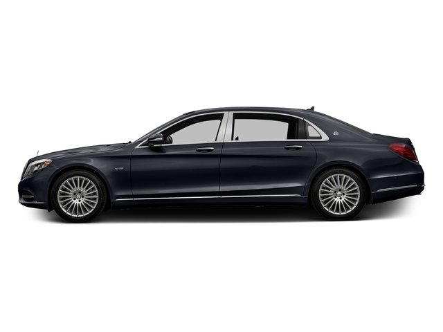 Anthracite Blue Metallic 2016 Mercedes-Benz S-Class Pictures S-Class Sedan 4D S600 Maybach V12 Turbo photos side view