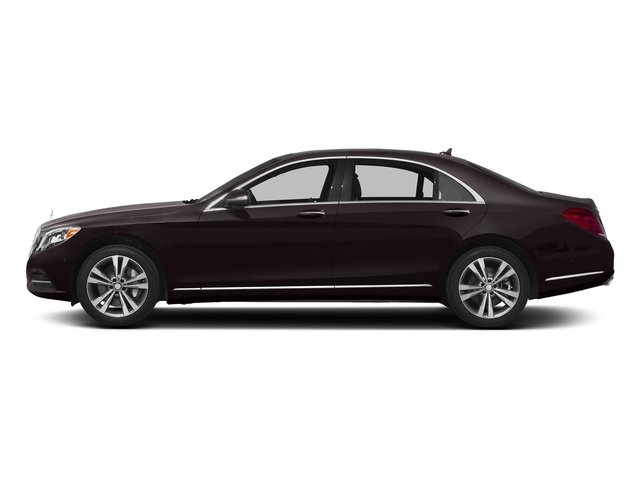 Ruby Black Metallic 2016 Mercedes-Benz S-Class Pictures S-Class Sedan 4D S550e V6 Turbo photos side view