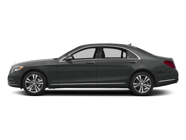 Selenite Grey Metallic 2016 Mercedes-Benz S-Class Pictures S-Class Sedan 4D S550e V6 Turbo photos side view