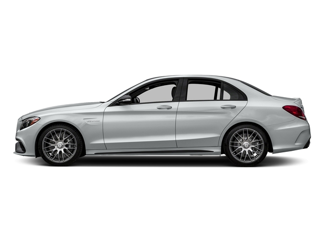 Iridium Silver Metallic 2016 Mercedes-Benz C-Class Pictures C-Class Sedan 4D C63 AMG V8 Turbo photos side view
